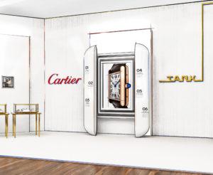 Cartier Tank Ausstellung München