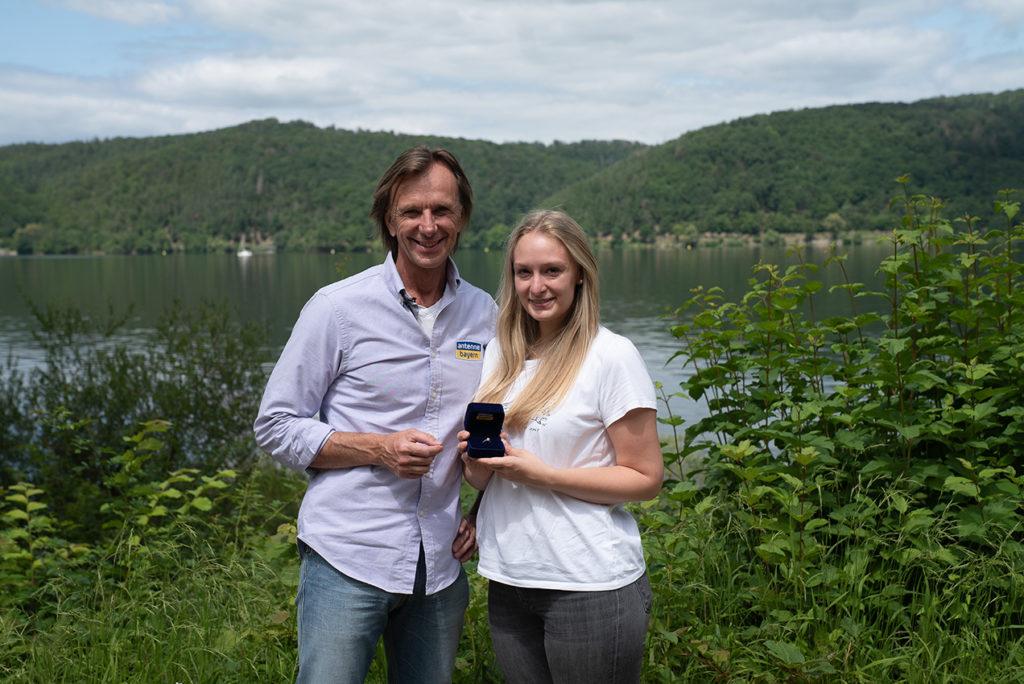 Wolfgang Leikermoser und das Team von Antenne Bayern haben Anna geholfen den Ring wiederzufinden.